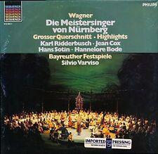 Wagner DIE MEISTERSINGER HLTS Varviso Bayreuther Philips 412 025 LP PROMO SEALED