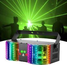 LED Laser Lichteffekte Bühnenbeleuchtung DMX RGBW Disco DJ Party Hochzeit Remote