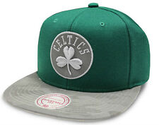 Boston Celtics Cap NBA Mitchell & Ness Reflect Camo Snapback Cap New - One size