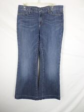 Gap Womens Jeans Size 10 (33.5x27) Long & Lean Medium Wash Hemmed