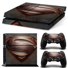 Superman Style PS4 Protective Skin Sticker Set Console and 2 Controllers - #49