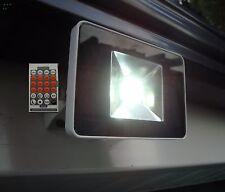 Capteur de microondes 20 W = 200 W Halogène DEL Projecteur Et Télécommande #