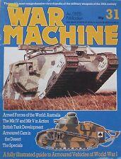 War Machine magazine Issue 31 Armoured Vehicles of World War I
