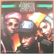 P.m. sampson and double key, we love to love, vg/vg, maxi single EP (8232)