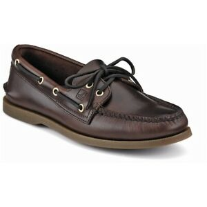 NEW! Men's Sperry Amaretto Authentic Orginial 2 Eye Topsider Size 12 M