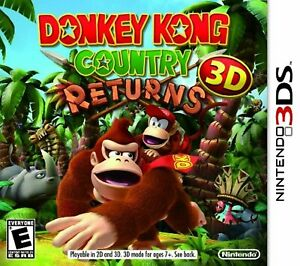 Donkey Kong Country Returns 3D For 3DS Very Good 1E