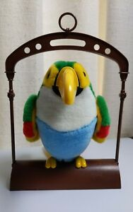 """Talking Toucan Electronic Toy """"Talk to me I can repeat what you say""""  1994"""