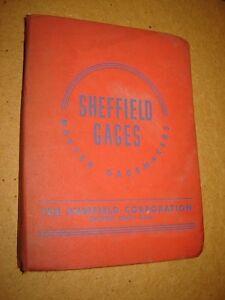 1942 Sheffield Gages Catalog 42-2 The Sheffield Corporation Dayton, Ohio