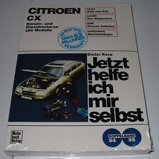 Reparaturanleitung Citroen CX  Benzin + Diesel Jetzt helfe ich mir selbst NEU!