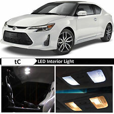 9x White Interior Map Dome LED Lights Bulb Package Kit for 2005-2016 Scion tC