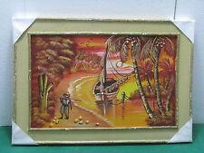 Lotto 14 - QUADRO con pittura in rilievo olio su tela  42x61  esemplare unico