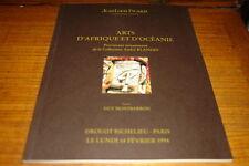 JEAN-LOUIS PICARD CAT-ARTS D'AFRIQUE ET D'OCEANIE,14 FEBRUARY 1994