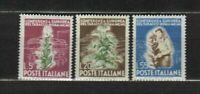 S33570 Italy 1950 MNH New Tobacco 3v