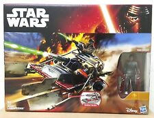 "HASBRO STAR WARS DESERT LANDSPEEDER w/ 3.75"" FINN VEHICLE"