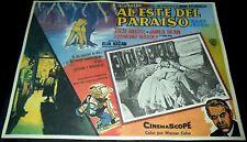 1955 East of Eden ORIGINAL RR MEXICAN LOBBY CARD Marlon Brando Elia Kazan B