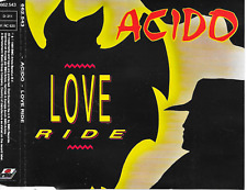 ACIDO - Love ride CDM 5TR House Synth-Pop 1989 (ARIOLA) Benelux