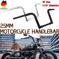 """10""""Ape Hanger 1-1/4'' 1""""Lenker Handlear Für Harley FLST FXST Sportster XL Custom"""