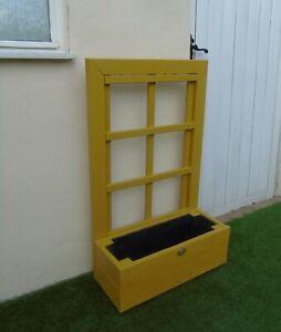 Rustic Display Planter Cuprinol Honeysuckle - Timber Wooden Pot Window Box