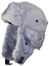 Best Winter Hats Adult Nylon Russian/Trapper W/Faux Fur Hat #125 Gray (XL/XXL)