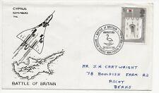 RAF FDC-CHYPRE se souvient de la bataille d'Angleterre - 1969 - (3261) (X)