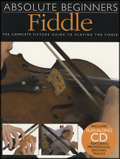 Absolute Beginners Fiddle Music Book/CD Learn How to Play Beginner Method