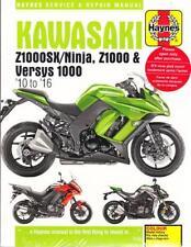 2010-2016 Z1000SX/Ninja & Versys 1000 Haynes Repair Service Workshop Manual 3779