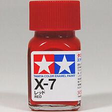 TAMIYA COLOR ENAMEL X-07 X-7 Red MODEL KIT PAINT 10ml NEW