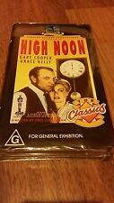 HIGH NOON . GARY COOPER, GRACE KELLY VHS VIDEO PAL~