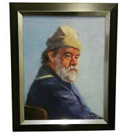 """Stunning Framed Oil  Painting """"Phill"""" by Linda Kolar 2000"""