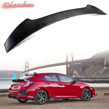Painted Black Honda Civic X 10 Hatchback 5DR High V Style Trunk Spoiler NEW ABS