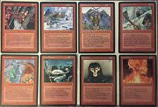 Magic: The Gathering - Ice Age Edition - Lot of 100+ Red Cards