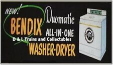 Billboard for Plasticville Holder Bendix Washer and Dryer
