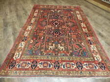 Ca1930 Vgdy Antique Persian Karache Serapi Heriz Viss 5.2x8.1 Estate Sale Rug