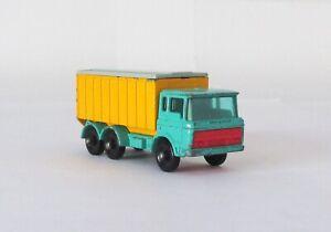 Vintage Lesney Matchbox #47 Tipper Container Truck Regular Wheel RARE BLUE 1968