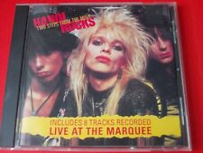 HANOI ROCKS ~TWO STEPS FROM THE MOVE~LIVE AT THE MARQUEE~COLUMBIA CD 1984 *RARE*