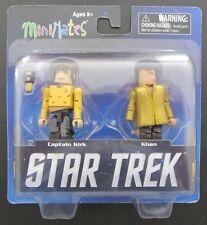 MINIMATES~STAR TREK LEGACY~TRU WAVE 1~CAPTAIN KIRK & KHAN~2013~NEW 2 PAC
