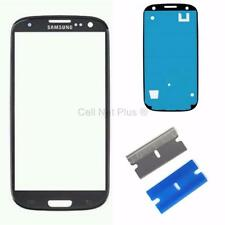New Replacement Repair Screen Front Glass Outer lens For Samsung Galaxy S3 BLACK
