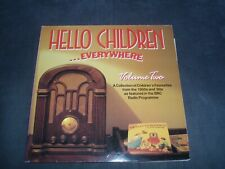 HELLO CHILDREN EVERYWHERE VOLUME 2 rare 2LP VG+