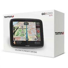 "TomTom Car Sat Nav GO 6200 6"" Sat Nav Lifetime Traffic via SIM Card World Maps"