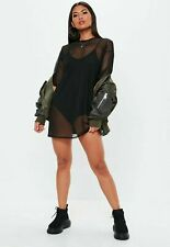 c322a85b24b Missguided Oversized Mesh T-shirt Dress Size UK 6