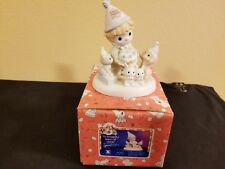 Precious Moments Bc952 10 Wonderful Years Of Wishes Members Only W/Box 95/96