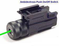 Green Pistol Rifle Laser Sight For Ruger SR9 SR40 Glock 17 19 22 Springfield XD