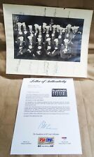 RARE 1960S 20 SIGNED CHOWDER & MARCHING CLUB PHOTO NIXON FORD LODGE ETC PSA DNA