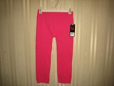 girls one step up leggings one size (7-16) pink NWT