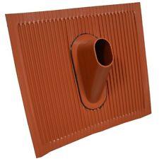 Universal Dachabdeckung Alu Dachziegel rot Pfanne Montage für Mashalter 38-60mm