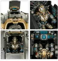 40k Imperial Knight Detailed Cockpit & Pilot Upgrade Sprue