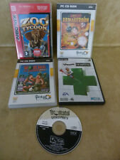 Collection of PC CD Rom Games Theme Hospital Worms Armageddon Windows 95 /98