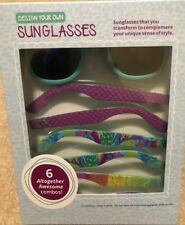 NEW 2018 GIRL SCOUT COOKIE Sunglasses Interchangeable Arms Little Brownie REWARD