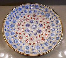 Atomic Design Mid-Century Modern Round Mosaic Tile Dish Bowl Ashtray Vintage