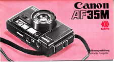 Canon AF-35M  Bedienungsanleitung  Deutsch N.B.172